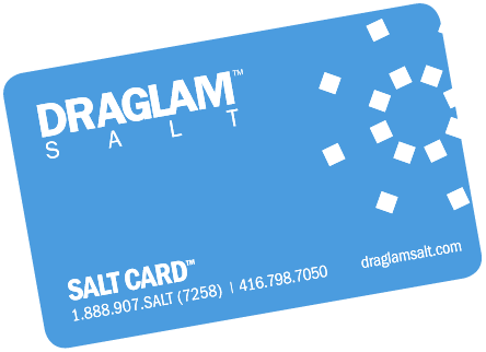 The Salt Card™ from Draglam Salt